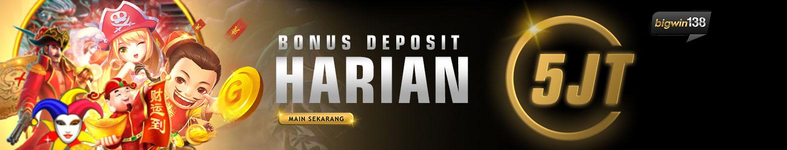 Bonus Harian Bigwin138